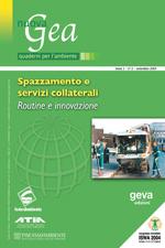 (Monog.) Spazzamenti e servizi collaterali-Routine e innovazione