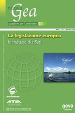 (Monog.) La legislazione europea in materia di rifiuti
