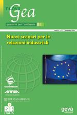(Monog.) Nuovi scenari per le relazioni industriali